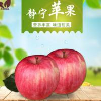 西域良品果品批发部 大量供应 价格实惠 静宁苹果