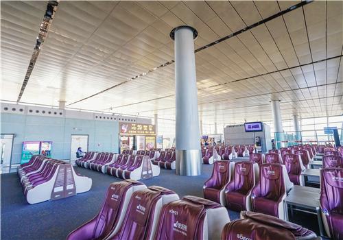 昆明机场候机厅