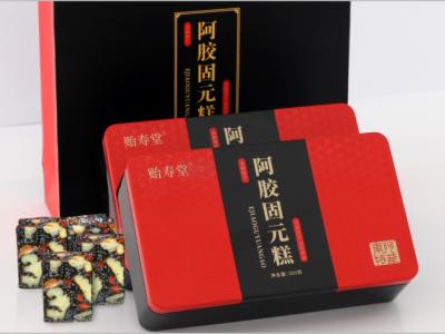 青柳源供应链:阿胶养生新生代贻寿堂阿胶固元糕