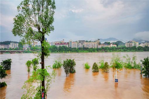 洪水-摄图网01