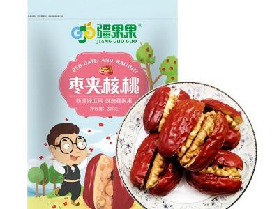疆果果新疆红枣夹核桃仁 枣夹核桃280g
