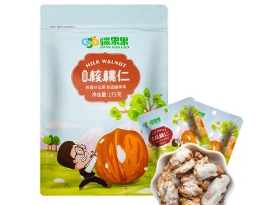 疆果果新疆核桃 雪霜核桃仁 小包装网红零食175g