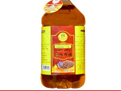疆果果油(亚麻籽油)5L